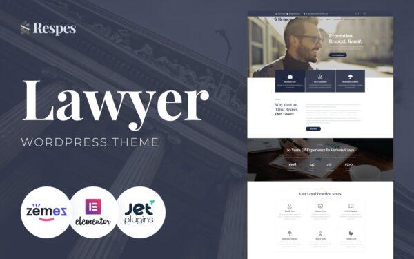 WordPress Kotisivut – Respes lakipalvelut