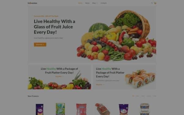 WooCommerce Verkkokauppa – Grocerino