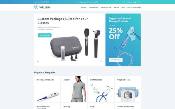 WooCommerce Verkkokauppa – Wellum