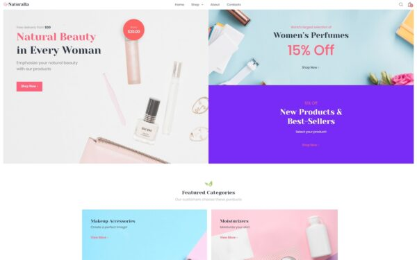 WooCommerce Verkkokauppa – Naturalla