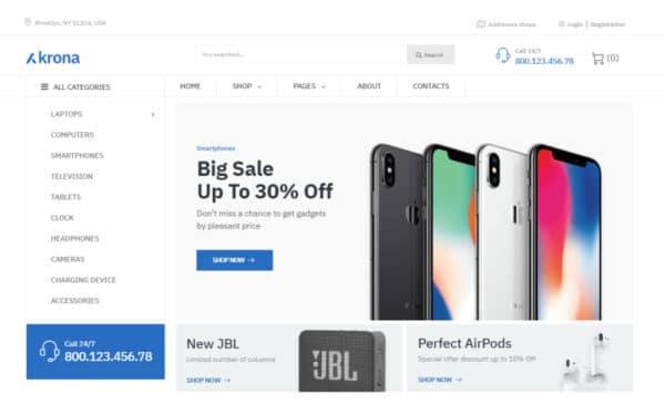 WooCommerce Verkkokauppa – Krona