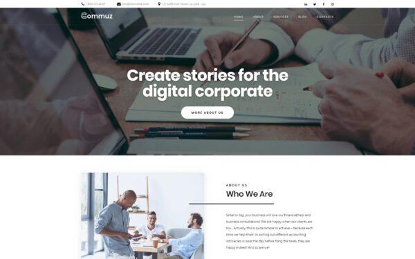 WordPress Kotisivut – Commuz