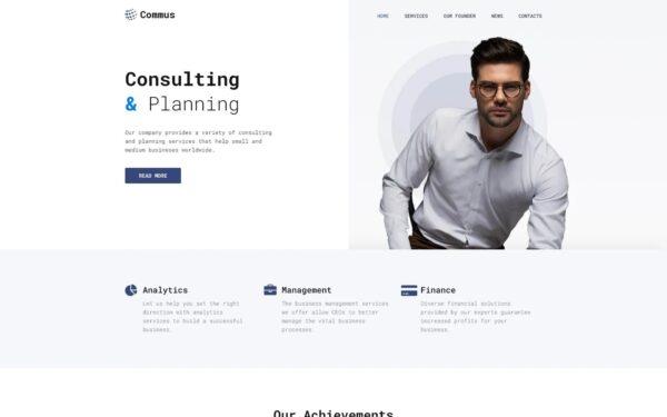 WordPress Kotisivut – Commus
