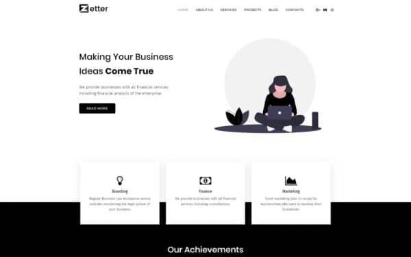 WordPress Kotisivut – Zetter