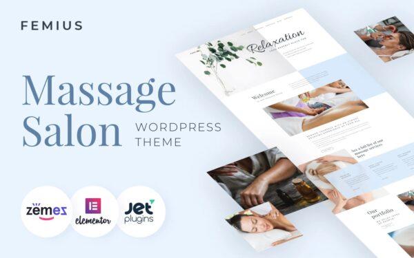 WordPress Kotisivut – Hierontapalvelut