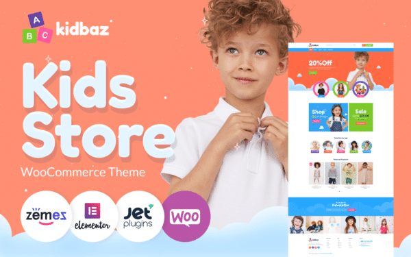 WooCommerce Verkkokauppa – Kidbaz