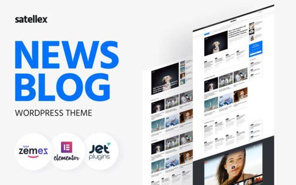 WordPress Kotisivut – Sanomalehdet & Uutiset