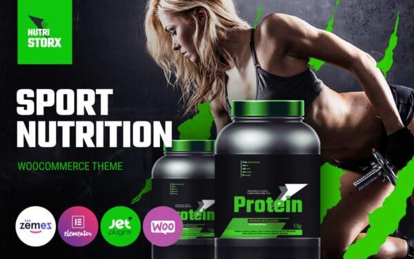 WooCommerce Verkkokauppa – NutriStorx