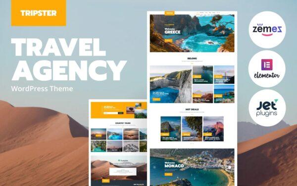 WordPress Kotisivut – Tripster matkatoimisto