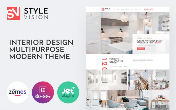 WordPress Kotisivut – Style Vision sisustus