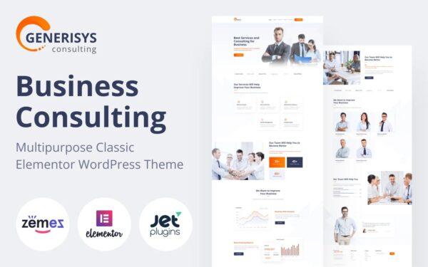 WordPress Kotisivut – Generisys konsultointi