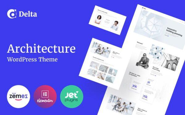 WordPress Kotisivut – Delta arkkitehtuuri