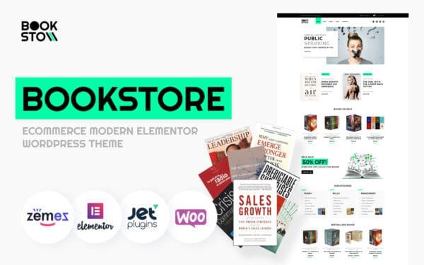WooCommerce Verkkokauppa – BookSto