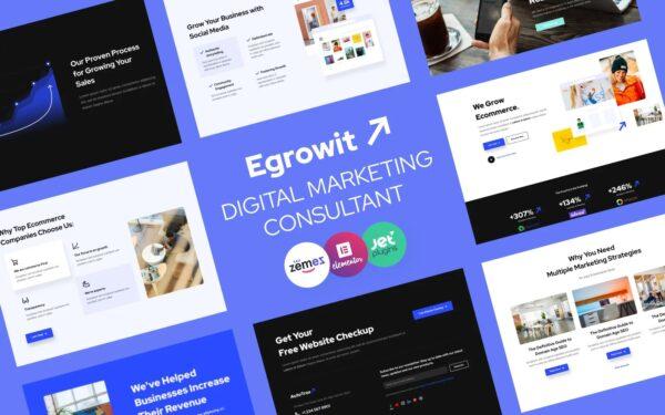 WordPress Kotisivut – Egrowit Digitaalinen markkinointi