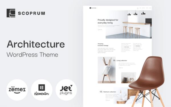WordPress Kotisivut – Scoprum arkkitehtuuri