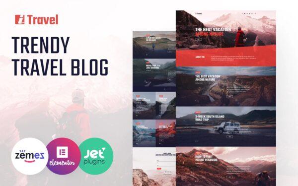 WordPress Kotisivut – ITravel matkailu