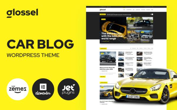 WordPress Kotisivut – Glossel Autoilu