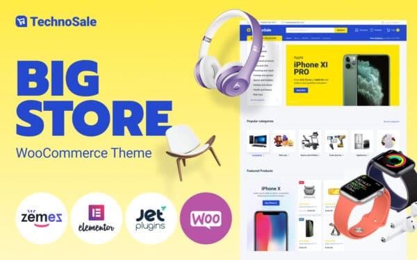 WooCommerce Verkkokauppa – TechnoSale