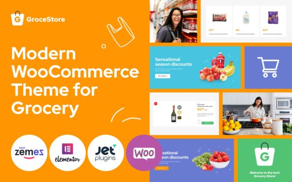 WooCommerce Verkkokauppa – GroceStore