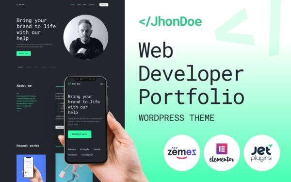 WordPress Kotisivut – Jhon Doe