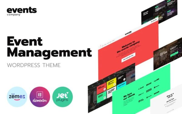 WordPress Kotisivut – Events company