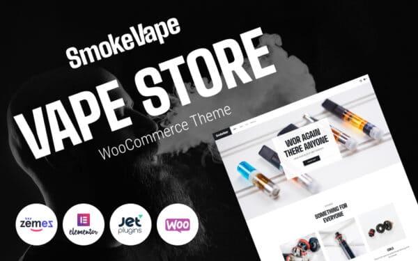 WooCommerce Verkkokauppa – SmokeVape