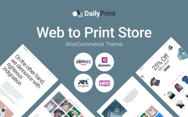 WooCommerce Verkkokauppa – DailyPrint