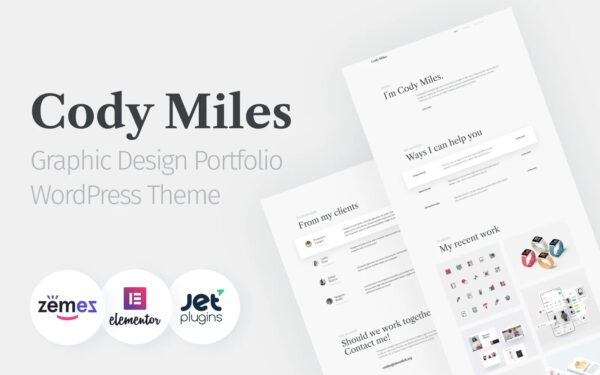 WordPress Kotisivut – Codi Miles