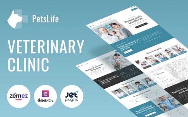 WordPress kotisivut – PetsLife