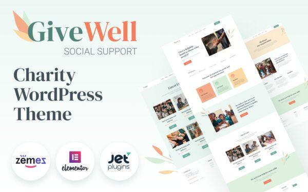 WordPress Kotisivut – GiveWell