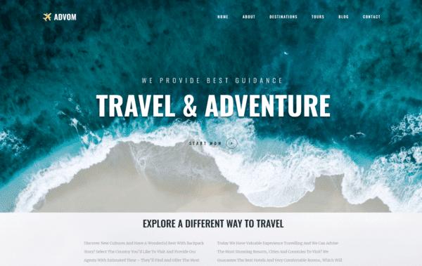 WordPress Kotisivut – Monstroid Advom