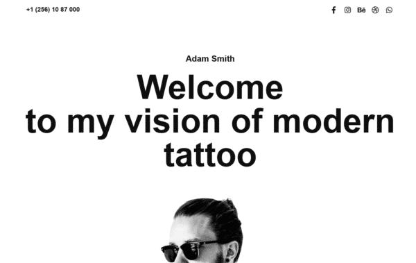 WordPress Kotisivut – XLand Tattoo salon