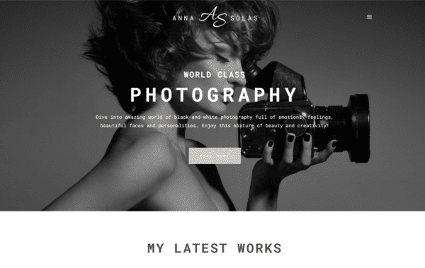 WordPress Kotisivut – Monstroid Anna Solas