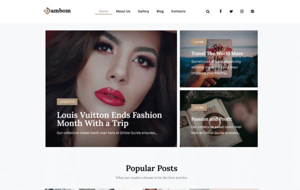 WordPress Kotisivut – Monstroid BamBom