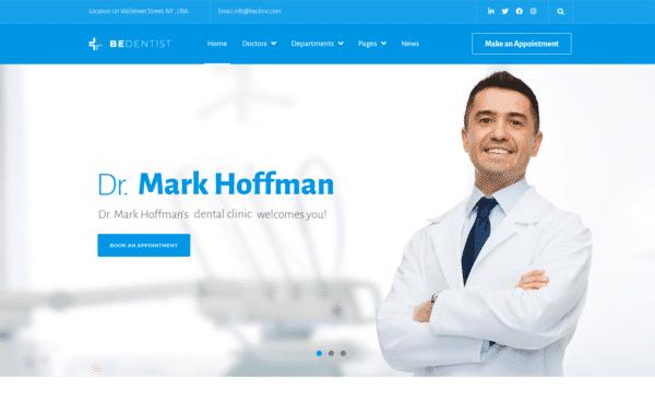 WordPress Kotisivut – Bedentist - Dental clinic