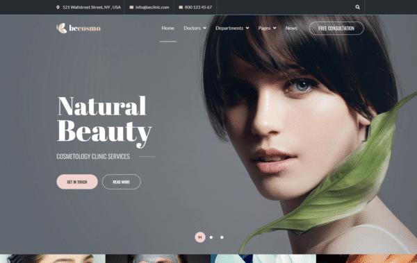 WordPress Kotisivut – Becosmo - Cosmetology