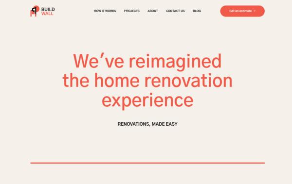 WordPress Kotisivut – BuildWall House Renovation