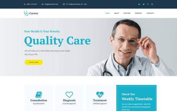 WordPress Kotisivut – Monstroid Careex