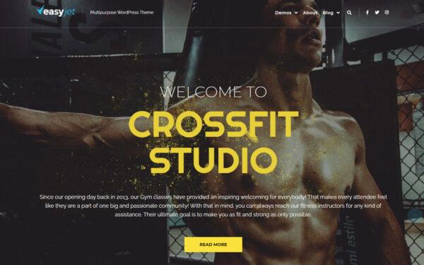WordPress Kotisivut – EasyJet Crossfit Studio