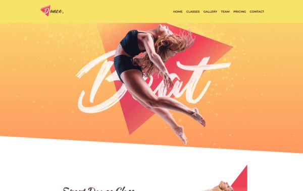 WordPress Kotisivut – Monstroid Dance