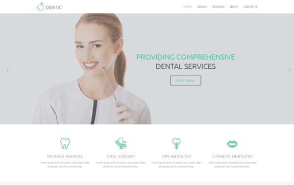 WordPress Kotisivut – Monstroid Dentic