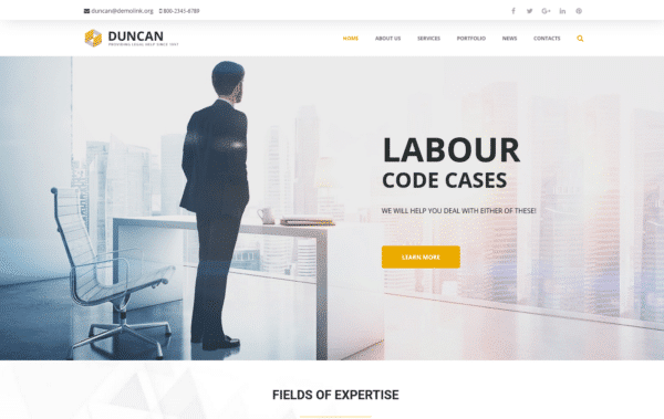 WordPress Kotisivut – Monstroid Duncan