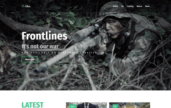 WordPress Kotisivut – Monstroid Eflex