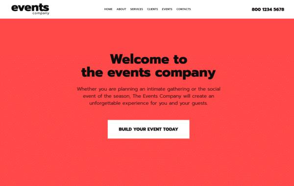 WordPress Kotisivut – XLand Event management