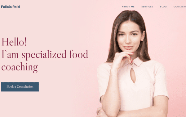 WordPress Kotisivut – Felicia Reid