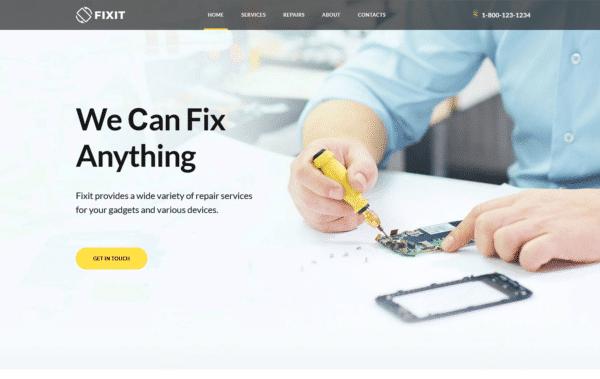WordPress Kotisivut – Monstroid Fixit