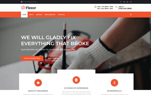 WordPress Kotisivut – Monstroid Flexor