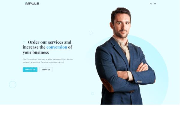WordPress Kotisivut – Monstroid Impuls