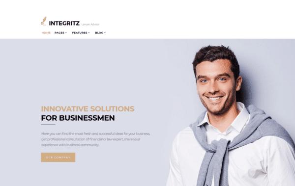 WordPress Kotisivut – Monstroid Integritz