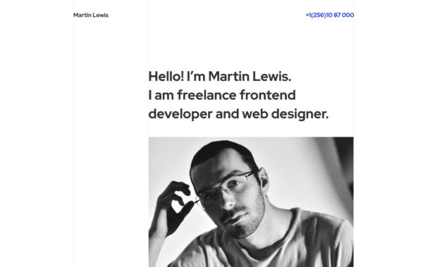 WordPress Kotisivut – Monstroid Martin Lewis